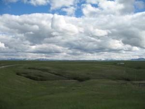 Green Montana Plains